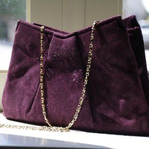 Vintage Purple Handbag